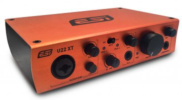 ESI U22XT USB Audio Interface Seite