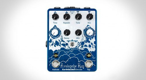 Earthquaker Devices Avalanche Run Pedal Delay Reverb Front