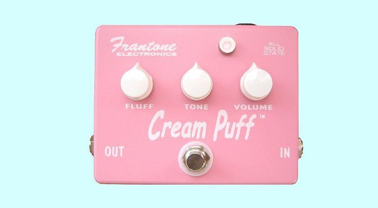 Frantone Cream Puff Fuzz Boutique Kickstarter Front