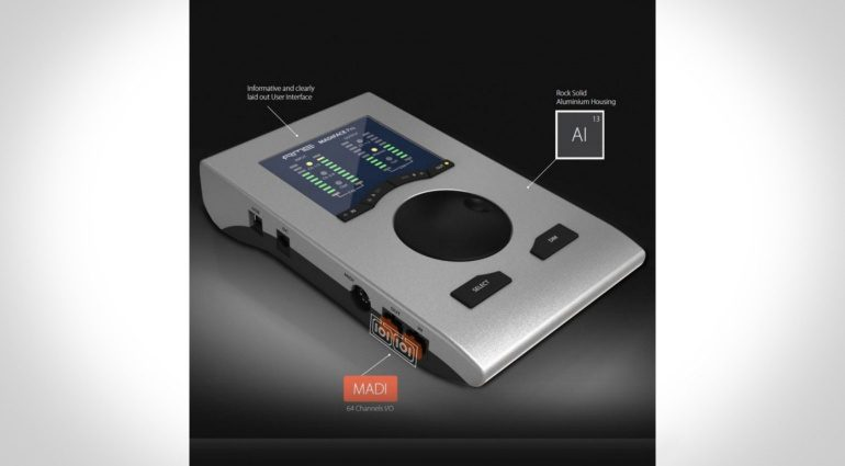 Musikmesse 2016: RME bringt neues Desktop Interface: MADIface Pro
