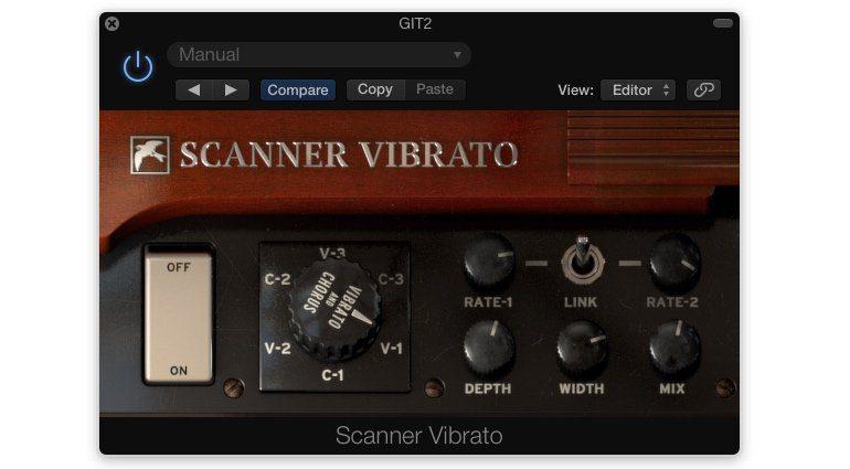 Martinic Scanner Vibrato GUI Logic