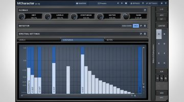 Melda Production Character - oder wie man seinen Sound mit Stil verbiegen kann