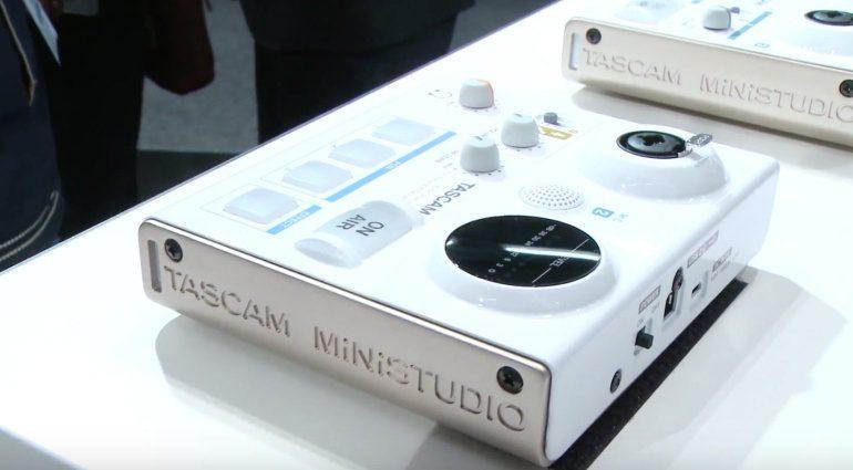 Musikmesse 2016: Tascam Prototyp MiniStudio Soundkarte für Blogger