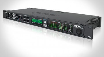 Motu 828x Thunderbolt - neuer ASIO Treiber für die bewährte Motu Soundkarte und Windows