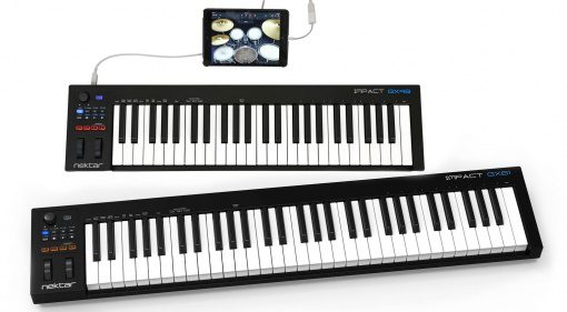 Nektar Impact GX49 GX61 iPad Controller Keyboard Front
