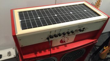 No Madd Solar Amp Panel