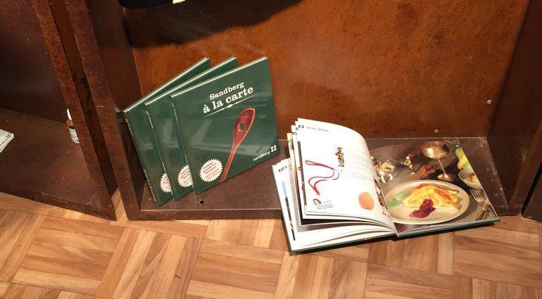 Sandberg A La Carte Kochbuch