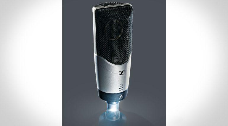 Musikmesse 2016: Sennheiser entwickelt mit Apogee das Mikrofon MK 4 digital