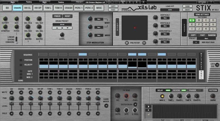 Xils Lab Stix - alle legendären Drummachines in einem Plug-in vereint?