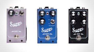 Supro Pedale Front Boost Drive Fuzz