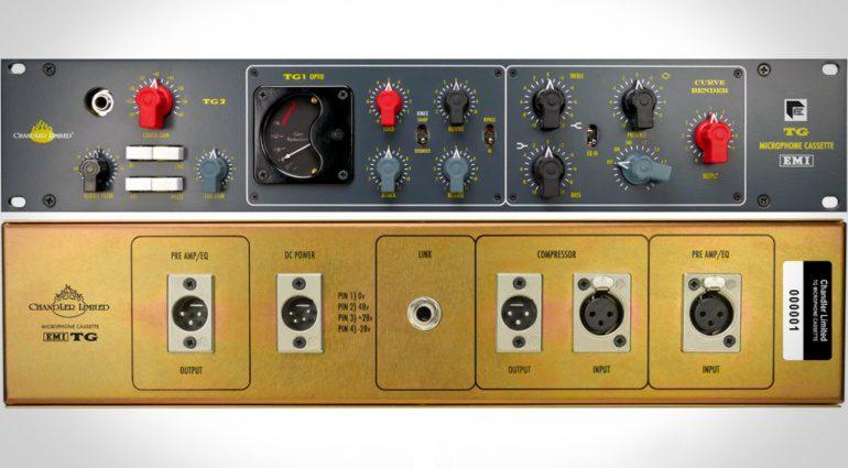 Musikmesse 2016: Chandler Limited und Abbey Road Studios zeigen TG Microphone Cassette