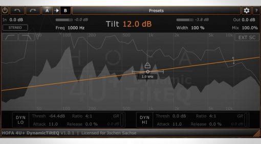 HOFA 4U+ DynamicTiltEQ - kostenloser Tilt Equalizer mit In-App Upgrades