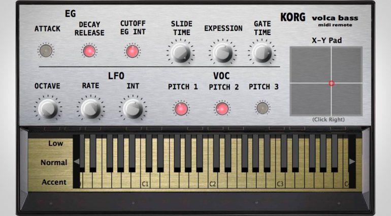 Korg Volca MIDI Remote - Fernbedienung für die kleinen Synthesizer
