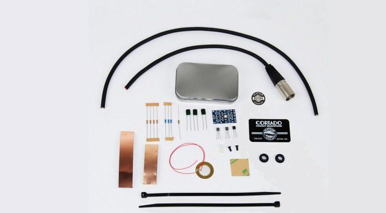 Zeppelin Design Labs The Cortado DIY Piezo Kontakt Mikrofon