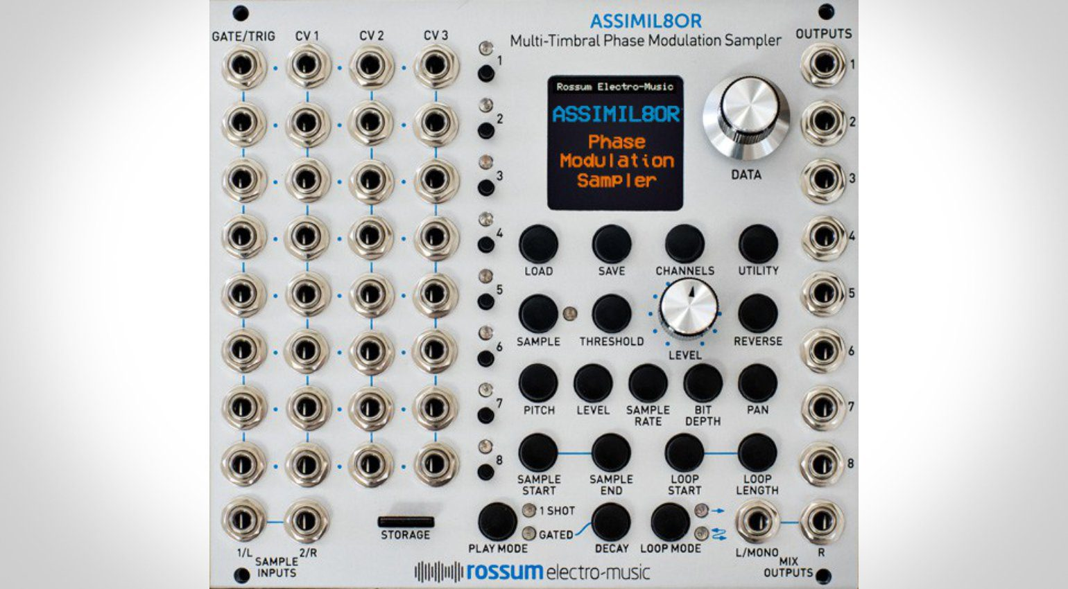 "Superbooth16: Rossum Electro-Music zeigt ""Mockup"" von Assimil8or"