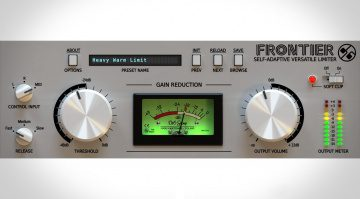 D16 Final Frontier - kostenloses Limiter Plug-in