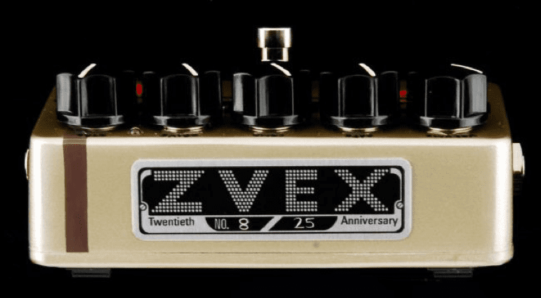 ZVex Fuzz Factory 20th Anniversary Pedal Front