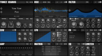 Tone2 Icarus - 3D Wavetable Synthesizer aus einer anderen Dimension?