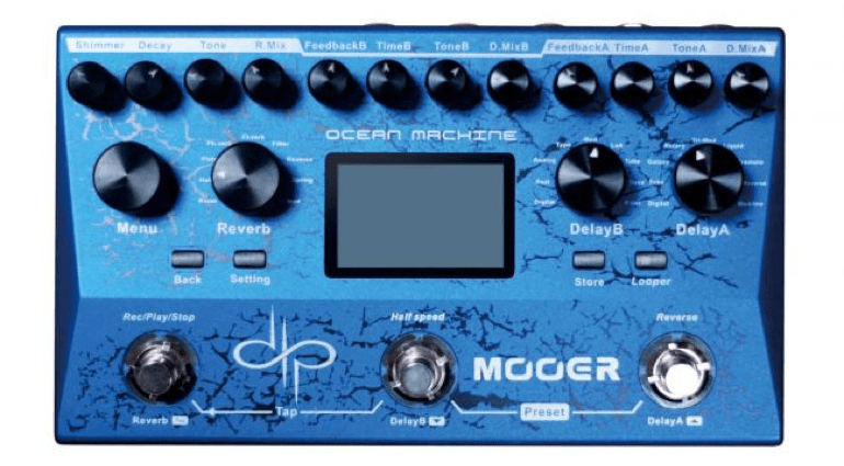 Mooer, Devin Townsend, Delay, Reverb, Looper, Signature, Ocean Machine