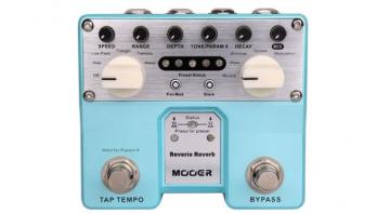 Mooer FX, Mooer Reverie, Twin-Pedals, Chorus, Reverb