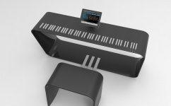 Alpha Pianos MPiano ACTOR - eine Designstudie mit Porsche
