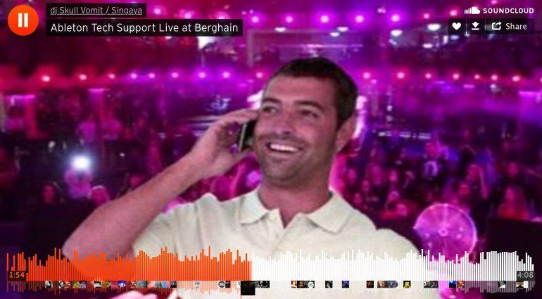 Ableton Tech Support hilft sogar während eines Live Sets im legendären Berghain