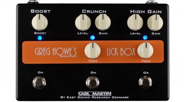 Carl Martin Greg Howe Signature Lick Box Pedal Front