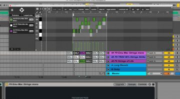 Chaos Culture MultiClip MIDI Editor - das gleichzeitige Bearbeiten von mehreren Clips in Live