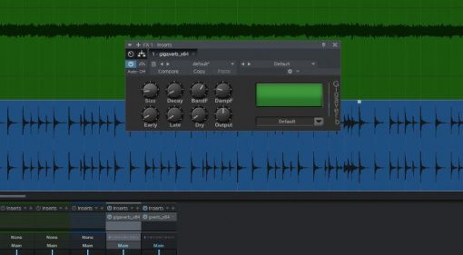 Elements Gigaverb Effekt Plug-in GUI Freeware