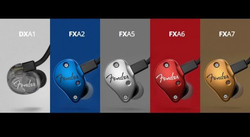 Fender Pro Series In Ear Monitoring Modelle Uebersicht