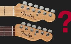 Fender Telecaster Fingerboard Griffbrett Holz Unterschied Blindtest