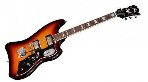 Guild S-200 T-Bird Front Guitar Big