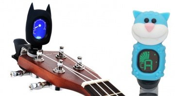 Harley Benton Clip On Tuner Cat Bat