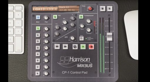 Harrison Mixbus CP-1 Controller Mousepad