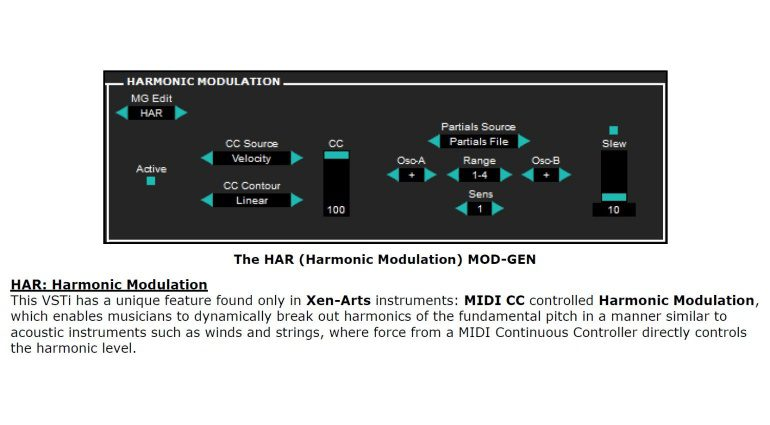 Xen-Arts Ivor2 - kostenloser mikrotonaler und subtraktiver FM, XFM und RM Synthesizer