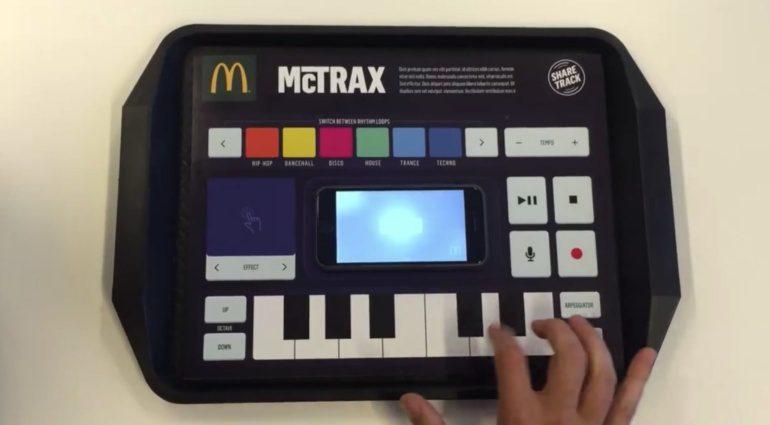 Endlich gibt es bei McDonalds ein Menu für Soundschrauber! McTrax wurde in Amsterdam getestet.