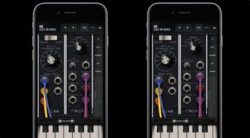 Moog Model 15 App iOS GUI 1