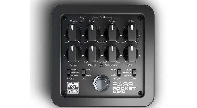Palmer Bass Pocket Amp Top Draufsicht