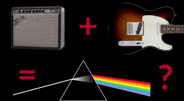 Pink Floyd Super Champ Gilmour Cover Sound