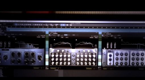 Positive Grid Pro Series Matching EQ Equalizer Plug-in GUI