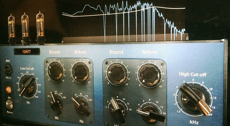 Positive Grid Pro Series Matching EQ Tube Equalizer Plug-in GUI
