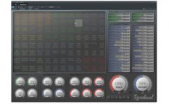 Realtimeonly Reverbical Plug-in Reverb Hall GUI maximal Ansicht 3