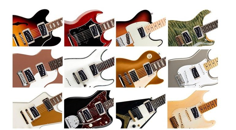 Rivet Guitar Pickup Kickstarter Gitarren Modelle Einbau