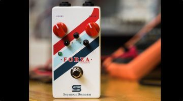 Seymour Duncan Forza Overdrive Pedal Front