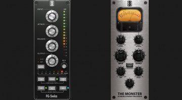 Slate Digital Distressor FG-Swiss Monster Kompressor GUI