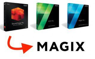 Sony Creative Software Sound Forge Vegas Acid Pro Magix
