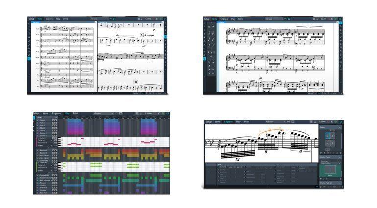Steinberg Dorico Notation GUI