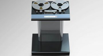 Studer Revox Tape R2R Reel to Reel Machine Design