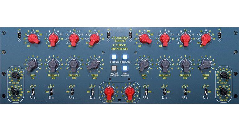 Universal Audio Softube Chandler Limited Cuve Bender GUI Plug-in