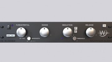 Wilkinson Audio DeBleeder Plug-in Effekt GUI Rack Front